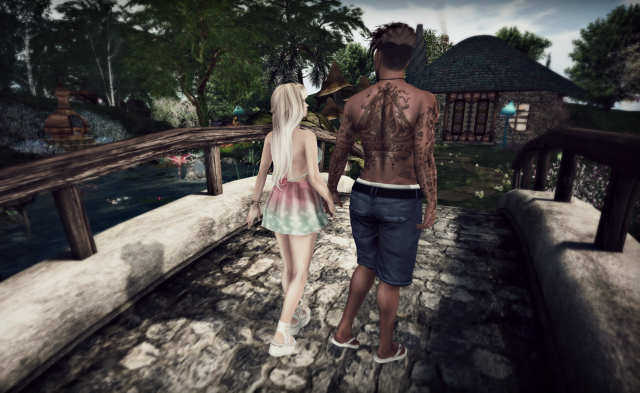 second life man fashion style blog